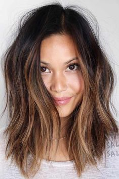 Messy Hairstyles for Medium Length Hair balayage, 24 Fresh Medium Hairstyl Hair Day, New Hair, Medium Hair Styles, Short Hair Styles, Hair 2018, Great Hair, Messy Hairstyles, Middle Hairstyles, Medium Wavy Hairstyles