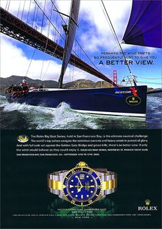 The 2006 Rolex Big Boat Series Ad
