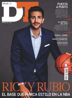 Revista #FHM 221. #RickyRubio, el base que marca estilo en la #NBA.
