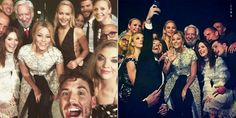 "Forget about the Oscars selfie, the cast of ""Hunger Games: Mockingjay Part 2"" came together to take the most epic photo together at the London premiere of the franchise's final installment! Jennifer Lawrence, Liam Hemsworth, Julianne Moore, Natalie Dormer, Elizabeth Banks were all crammed into the photo to mark the end of the saga. ""This isn't goodbye, it's a see you soon,"" Sam Claflin captioned the snap on Nov. 5, 2015."