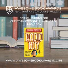 The next #awesomebookawards Q&A session with Christian O'Connell author of Radio Boy is now online! 📻 Read it here: www.awesomebookawards.com/5-questions-for-christian-oconnell #cranleigh #cranleighschool #cranleighprep #surrey #awesomebookawards2018 #bookawards #authorawards #aba2018 #christianoconnell #radioboy