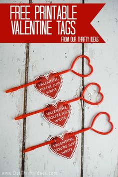 Here's a fun Valentine incorporating a pen or pencil, that will be a hit with all elementary school age kids.