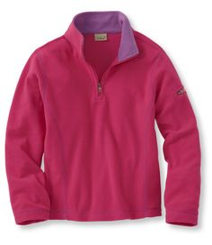 Girls' Fitness Fleece, Pullover: Sweatshirts and Fleece | Free Shipping at L.L.Bean