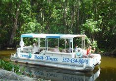 Mount Dora - Canal Tours from Lakeside Inn : Christmas tour
