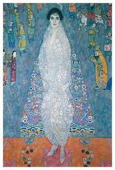 Portrait of Baroness Elizabeth Bachofen-Echt art print by Gustav Klimt