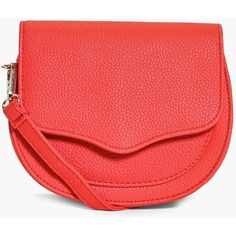 Boohoo Kate Stitch Detail Saddle Cross Body Bag | Boohoo ($20) ❤ liked on Polyvore featuring bags, handbags, shoulder bags, red, crossbody backpack, red cross body purse, red shoulder bag, red handbags and envelope clutch bag
