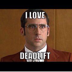 I love deadlift