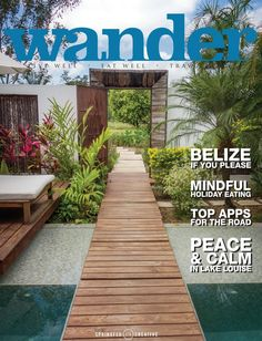Wander Wellness Travel Magazine Fall 2016