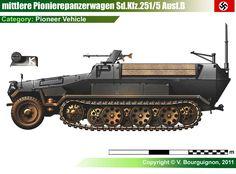 Sd.Kfz.251/5 Ausf.B