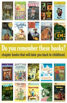 Check out 20 children's books from our childhood.