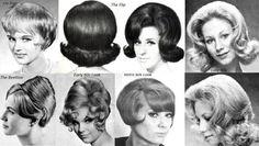Fryzury lat 60-tych