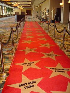 oscar party decorations | ... party decoration Hollywood Oscars Awards Night Theme Party Decorations