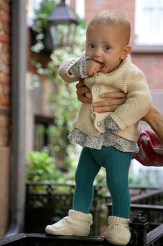 I love this baby's outfit, but the baldness is freaking me out for some reason