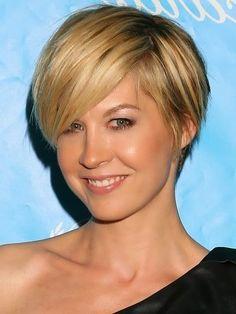 jenna elfman short hair 2012