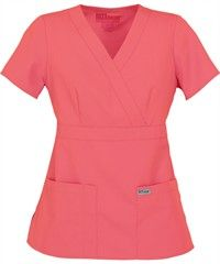 Grey's Anatomy Scrubs. Either black top or this coral color. Size small!