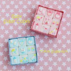 角砂糖に可愛くアイシング Sugar Cubes, Sugar Craft, Baby Showers, Sprinkles, Watermelon, Tokyo, Bakery, Fancy, Coffee
