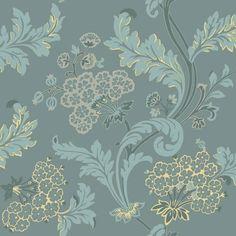 Drops Patterns, Damask Wallpaper, Designers Guild, Christian Lacroix, William Morris, Floral Motif, Crow, Montreal, Magnolia