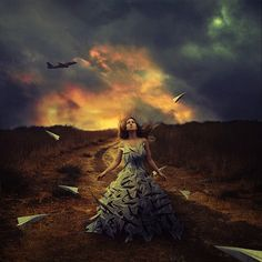 waiting to fly by brookeshaden, via Flickr