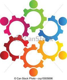 logo illustration vector design teamwork gears 6 by a group of people friends Teamwork Logo, Vector Design, Logo Design, Logo Clipart, Gym Logo, Friendship Group, Friend Friendship, People Logo, Community Logo