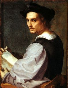 Man Portrait by Andrea Del Sarto