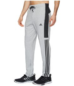 adidas Sport ID Cotton Pants Men's Workout Medium Grey Heather Adidas Outfit, Adidas Pants, Adidas Sport, Mens Sweatpants, Joggers, Track Pants Mens, Nike Fleece, Boys Pajamas, Sporty Outfits
