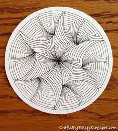 I've had some fun with Maryhil l and the pre-strung Zentangle® Zendalas. I've had some fun with Maryhil l and the pre-strung Zentangle® Zendalas. Doodle Patterns, Zentangle Patterns, Tile Patterns, Pattern Art, Tangle Doodle, Zen Doodle, Doodle Art, Art Zen, Zantangle Art