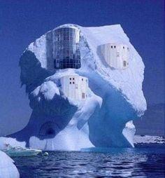 Casa icerberg #casas #houses  casas-raras  original-houses
