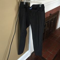 Cropped pants Black and white Old Navy Pants Ankle & Cropped