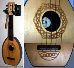 "A fan-site compendium of customized and limited-edition styles and designs of ""the other best little ukulele in the whole darn world,"" the fantastic Flea! Celtic Instruments, Musical Instruments, In Remembrance Of Me, Erin Go Bragh, Kalimba, Irish Roots, Goddess Art, Norse Vikings, Music Boxes"