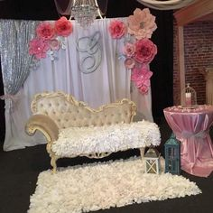 Lovely #quinceañera decoration for a beautiful girl ✨ This picture made my day