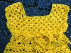 Gehaakt Babyjurkje Lindevrouwsweb Crochet Crochet Crochet