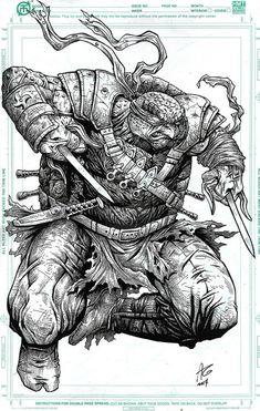 Teenage Mutant Ninja Turtles - Raphael by Allen Geneta *
