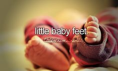 Little baby feet