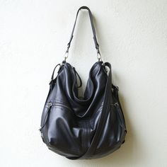 The Hobo Pack in lightweight Italian leather is our clients favorite bag for travel and for everyday with its unique soft drape and three in one function. Most women enjoy the Hobo as a crossbody bag.