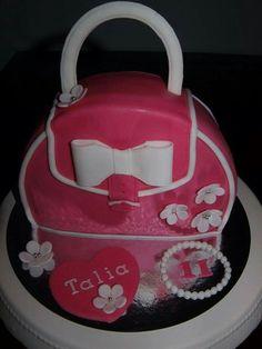 Handbag Cake Fondant
