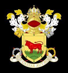 Cesare Borgia (1475-1507) coat of arms