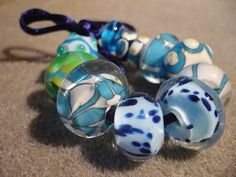 Different kind of lampworkbeads