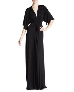 Rachel Pally Solid Black Caftan Maxi Dress - Neiman Marcus I love this in any length!!
