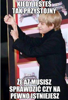 K Pop, Polish Memes, K Meme, Funny Mems, Kdrama Memes, Bts Imagine, I Love Bts, Meme Faces, Wtf Funny