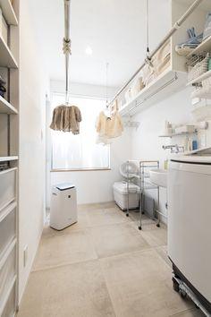 Modern Laundry Rooms, Laundry Room Design, Kitchen Design, Home Interior Design, Interior Architecture, Laundry Room Remodel, Ideal Home, House Design, Home Decor