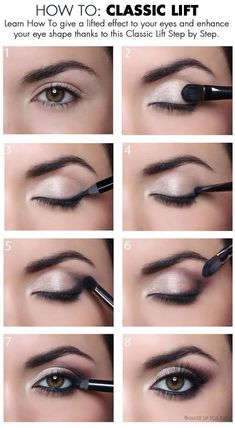 When it comes to eye make-up you need to think and then apply because eyes talk louder than words. The type of make-up that you apply on your eyes can talk loud about the type of person you really are. It doesn't really matter if y Eye Makeup Tips, Makeup Goals, Skin Makeup, Makeup Ideas, Makeup Tricks, Makeup Products, Eye Makeup For Hazel Eyes, Makeup Brands, Makeup Kit