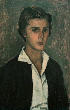 Yannis Moralis - Portrait of a woman