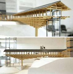 Museo del puente de madera | Kengo Kuma