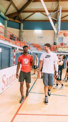 Jimmy Butler and Pau Gasol Nike, Butler, Basketball Court, Men, Sports, Guys