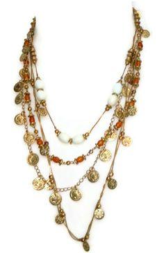 gypsy style necklace
