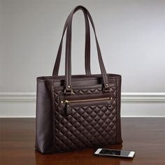 Levenger Executive Quilted Tote