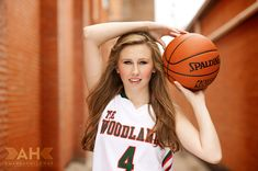 Basketball Portrait pose, I think I will have Fotofly re-create this pose for Kenzie this year.