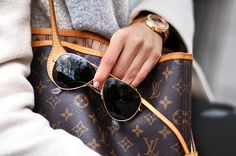 My favorite tote - Louis Vuitton Neverfull MM