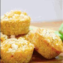 Recette originale de muffins aux pâtes et au fromage