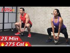 Exercice du sport en Vidéos : 20 Min Beginner Strength Training for Beginners Workout - Weight Lifting Dumbbell Workouts Women Men - Virtual Fitness Kettlebell Training, Kettlebell Workout Routines, Best Kettlebell Exercises, Dumbbell Workout, Kettlebell Cardio, Kettlebell Challenge, Exercise Routines, Exercise Motivation, Fat Workout